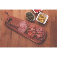 Load image into Gallery viewer, Tramontina African Mahogany Antipasto Serving Board 48x19x1.8CM