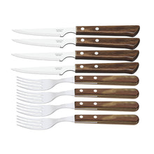 Load image into Gallery viewer, Tramontina - Churrasco Premium 8pc Vaneira Steak Cutlery Set