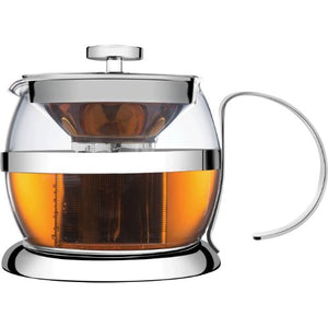 NEW 1200ML TEA MAKER S/S AND GLASS