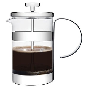 NEW 6CUP S/S GLASS COFFEE PLUNGER