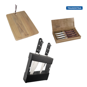 Tramontina 109th Anniversary - Knives & Board Bundle