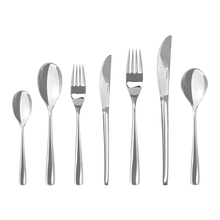 Load image into Gallery viewer, NEW 56PC CRYSTAL CUTLERY SET