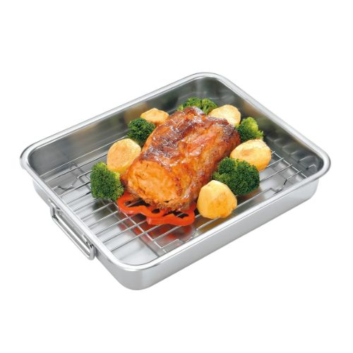 BAKE & ROAST PAN WITH GRILL