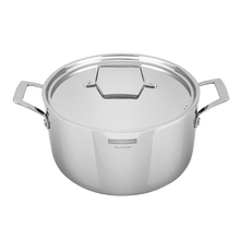 Load image into Gallery viewer, Tramontina Grano 24 cm 4.4 L Stainlees Steel Shallow Casserole