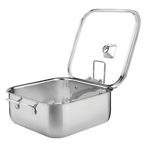 Tramontina Grano 28 cm 7.3 L Stainless Steel Square Casserole