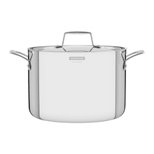 Load image into Gallery viewer, Tramontina Grano 24 cm 7.7 L Stainless Steel Stock Pot