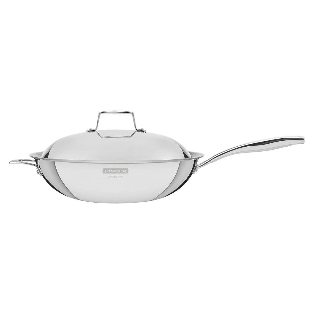 Tramontina Grano 32 cm 5.2 L Stainless Steel Wok