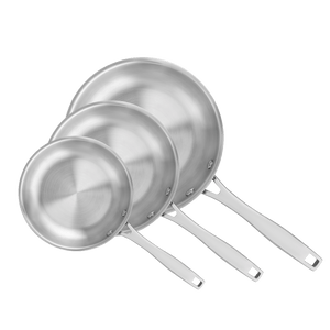 3Pc Grano Frying Pan Set - 20cm, 26cm and 30cm