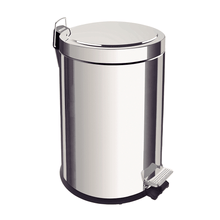 Load image into Gallery viewer, Tramontina 5L Stainless Steel Pedal Trash Bin