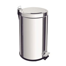 Load image into Gallery viewer, Tramontina 12L Stainless Steel Pedal Trash Bin