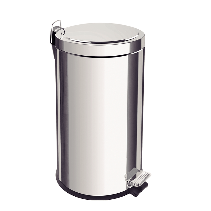 Tramontina 20L Stainless Steel Pedal Trash Bin