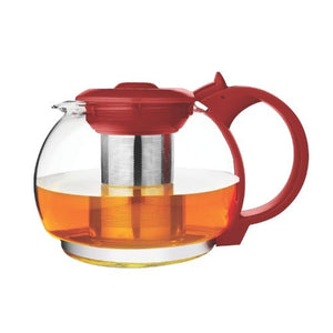 TRAS0524RED 1600ML TEA MAKER PLAST