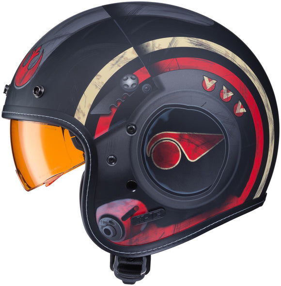 HJC IS-5 POE DAMERON Motorcycle Helmet DOT Star Wars