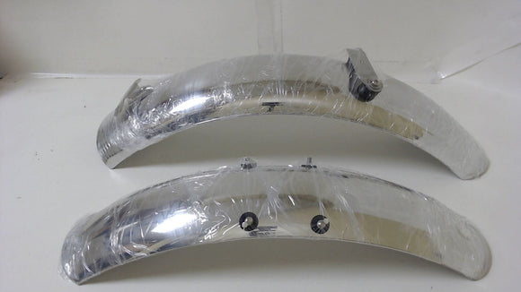 OEM Moto Guzzi V7 POLISHED Front and Rear Fender SET 2S000147