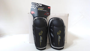 New FOX RACING TITAN SPORT Elbow Guard Black Adult Mens Protection Riding Gear