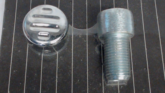 Genuine Yamaha Ball Milled Billet Differential Filler Bolt Cover V-Star VMAX