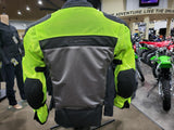 Scorpion Vortex Air Jacket Motorcycle Street Mesh Riding Medium HI-VIS Yellow