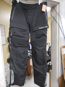 ScorpionExo Seattle WP Men's Textile Motorcycle Over-Pants Black Mens Medium