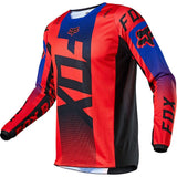 Fox Racing Youth 180 OKTIV Jersey Flo Red Motocross MTB BMX Dirt Bike Offroad MX