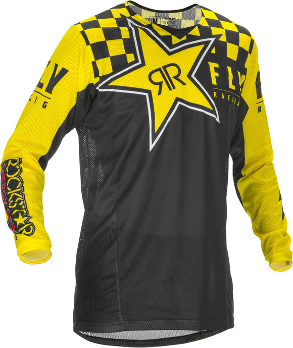 2020 Fly Racing Kinetic Mesh Motocross Jersey ROCKSTAR All Sizes Adult