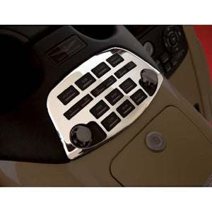 Show Chrome Radio Accent Panel For 2001 - 2010 Honda Goldwing GL1800 Non Airbag