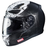 HJC CL-17 Punisher 2 Motorcycle Helmet Unisex-Adult Full face X-Large Marvel