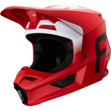 Fox Racing 2020 V1 Helmet - Werd (Medium) (Flame RED)