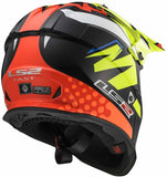 LS2 Helmets Unisex-Adult Off-Road-Helmet-Style MX (V2 Explosive Yellow, XXX-Large)