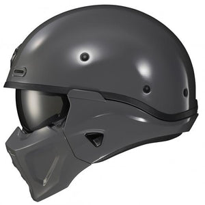 SCORPION COVERT X MOTORCYCLE HELMET CEMENT GREY FULL FACE