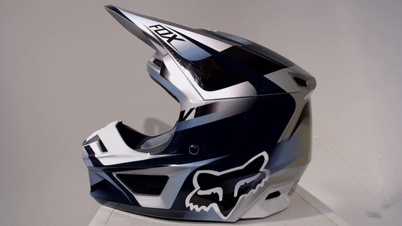 Fox Racing 2019 V1 Helmet Motif Youth Medium Blue/Grey Motocross ATV Dirt Bike