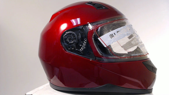 Speed & Strength SS700 Motorcycle Helmet Full Face Unisex Adult Medium Wineberry
