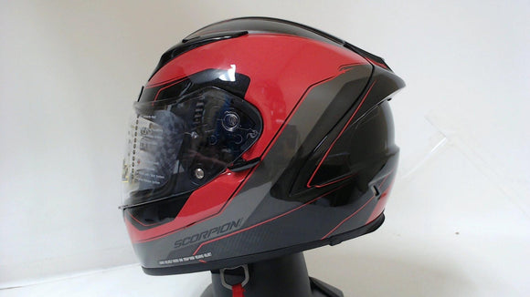 Scorpion EXO-R2000 Adult Street Motorcycle Helmet - Hypersonic Red/Large