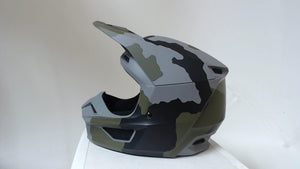 2020 Fox Racing Youth V1 Przm Camo Motorcycle Helmet YM Motocross MX ATV Offroad