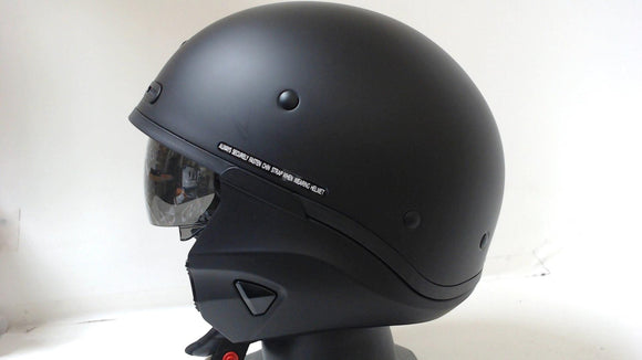Scorpion Covert X Motorcycle Helmet X-Large Matte Black Full Face Convertible