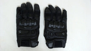 Scorpion Mens Klaw II Motorcycle Gloves Black XL Rider Goatskin Molded Knuckle