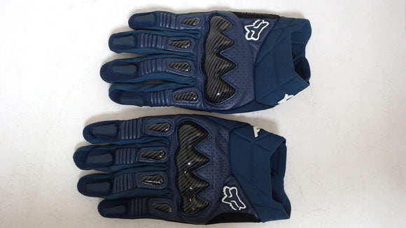 2021 Fox Racing Bomber Gloves Navy Blue Mens 3XL Motorcycle Goatskin Leather