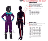 New Fly Racing 2019 Adult Womens Motocross Jersey Lite Blue HiVIZ BMX MX Dirt