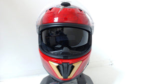 HJC I70 The Flash Full Face Motorcycle Helmet DC Comics Justice League Red Adult