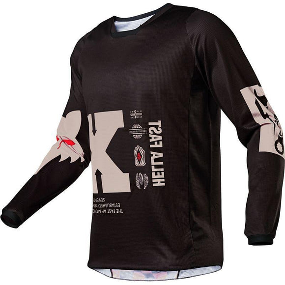 FOX RACING 180 ILLMATIK JERSEY BLK Motocross MTB BMX Dirt Bike Offroad MX