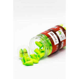 10X Earjobs™ Ultimate Foam Ear Plugs (SNR 35) (10 Bottles / 350 Pairs)