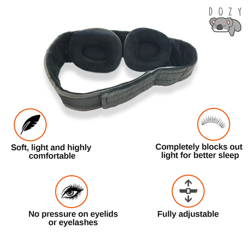 The Dozy™ 3D Sleep Mask