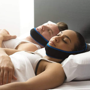 Earjobs™ Sleep Apnea Anti-Snoring Chin Strap