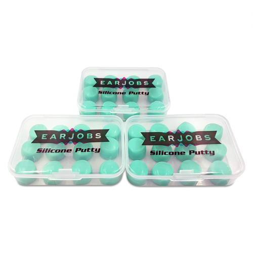 Earjobs™ Silicone Putty Ear Plugs (SNR 22)