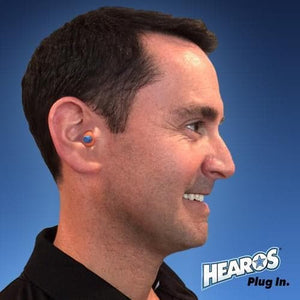 Hearos SoftStar EZ Twist No-Roll Foam Ear Plugs (NRR 30) (100 pairs - Uncorded)