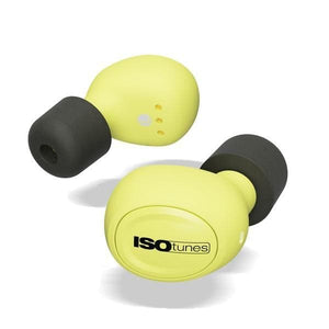 ISOtunes FREE Industrial Wireless Bluetooth Ear Plugs (NRR 22)
