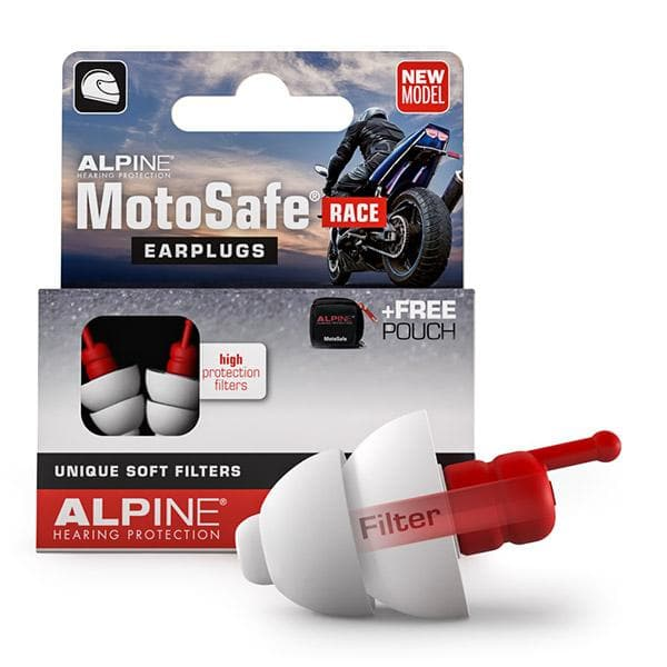 Alpine Motosafe RACE Ear Plugs