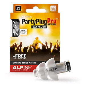 Alpine Partyplug Pro™ Natural Music Earplugs