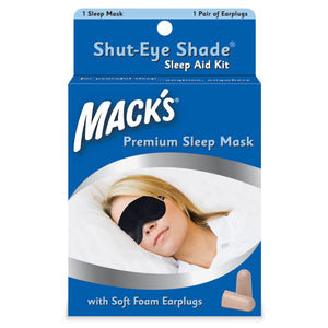 Macks Shut-Eye Shade Sleep Mask