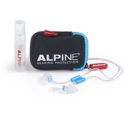 Alpine SurfSafe Ear Plugs (w/ Free Cord, Pouch and Cleaning Spray)