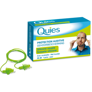 Quies Corded Reusable Ear Plugs
